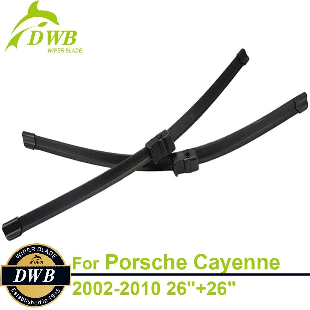 Wiper blades for porsche cayenne 2002 2010 26 26 2pcs free