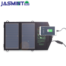 10W 5V Foldable Solar Panel Portable Charger with USB Solar Battery Charging power bank for Phone for Hiking Outdoors ultra large capacit high power 12v 5v usb 100ah 120ah 150ah 180 220ah li polymer battery for boat motors solar panel power bank