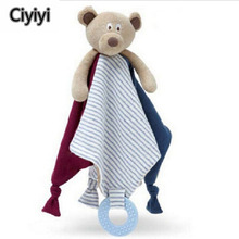 Cute Cartoon Bear Soft Plush Baby Ganjaran Blanket Mainan Bayi Bedtime Crib Mobile Kasir Anak Mainan Anak Mainan Hari Lahir Jouet