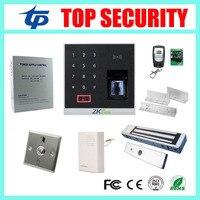 X8 BT отпечатков пальцев контроля доступа с Bluetooth, 280 КГ EM замок магнитный замок, 12 В питания, металл кнопка выхода и дверной звонок