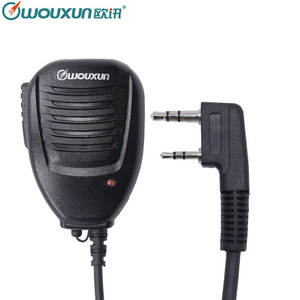 Image 1 - Alta Qualidade Original Wouxun Speaker Microfone para Wouxun SMO 002 KG UVD1P KG UV6D KG UV8D KG UV9D Plus Walkie Talkie