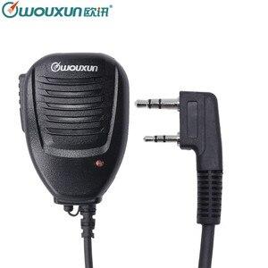 Image 1 - Original High Quality Wouxun Speaker SMO 002 Microphone  for Wouxun KG UVD1P KG UV6D KG UV8D KG UV9D Plus Walkie Talkie