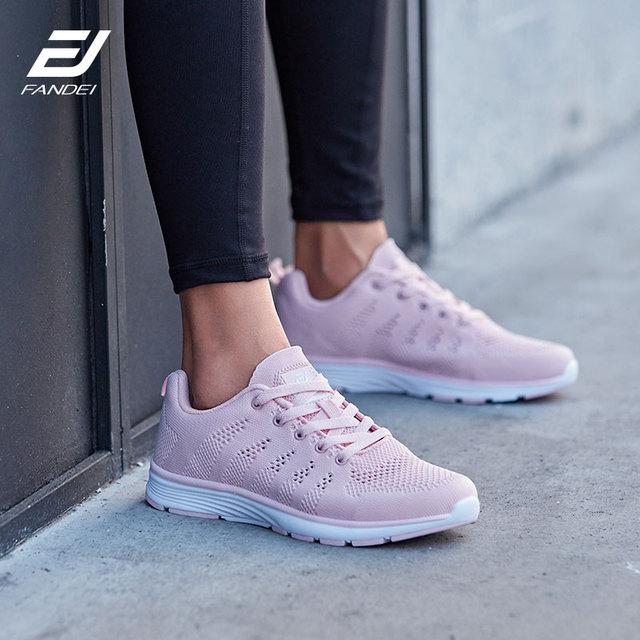 FANDEI Kış koşu ayakkabıları Kadın Sneakers Kadın Erkek Açık spor ayakkabılar Kadın Chaussures Femme Fapatillas Mujer Deportiva PE