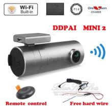 Free shipping!  Mini 2 1440P HD WIFI Car Dash cam DVR 140 Degree for Iphone,Android with Hard Wire