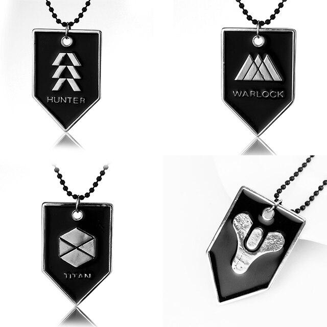 Schicksal Halskette Schicksal Fate Berufs Logo Symbol Abzeichen