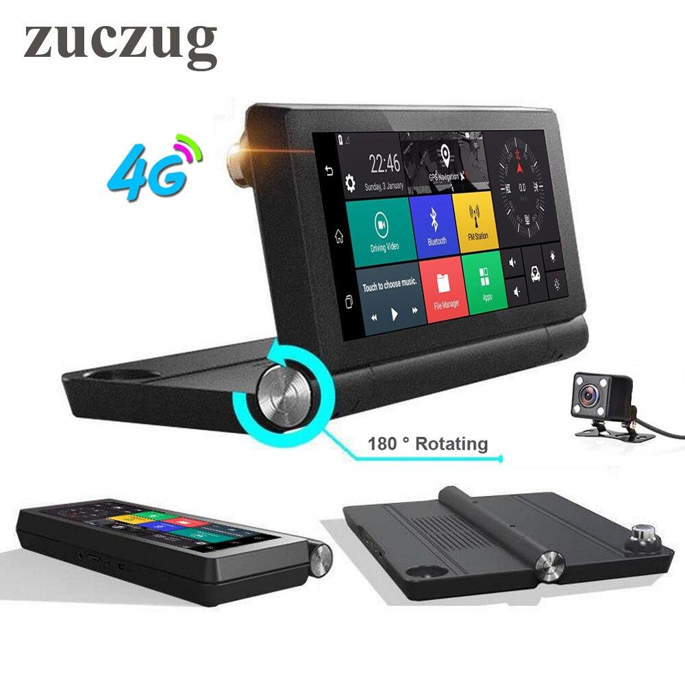 "Dashboard 7"" 4G Car DVR Camera GPS Navigatior Remote"