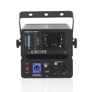 Image 4 - بطاقة SD للأجنبي 500mW RGB DMX للصور المتحركة عارض إضاءة ليزر للمسرح ديسكو DJ للحفلات والنوادي والحفلات الموسيقية تأثير احترافي