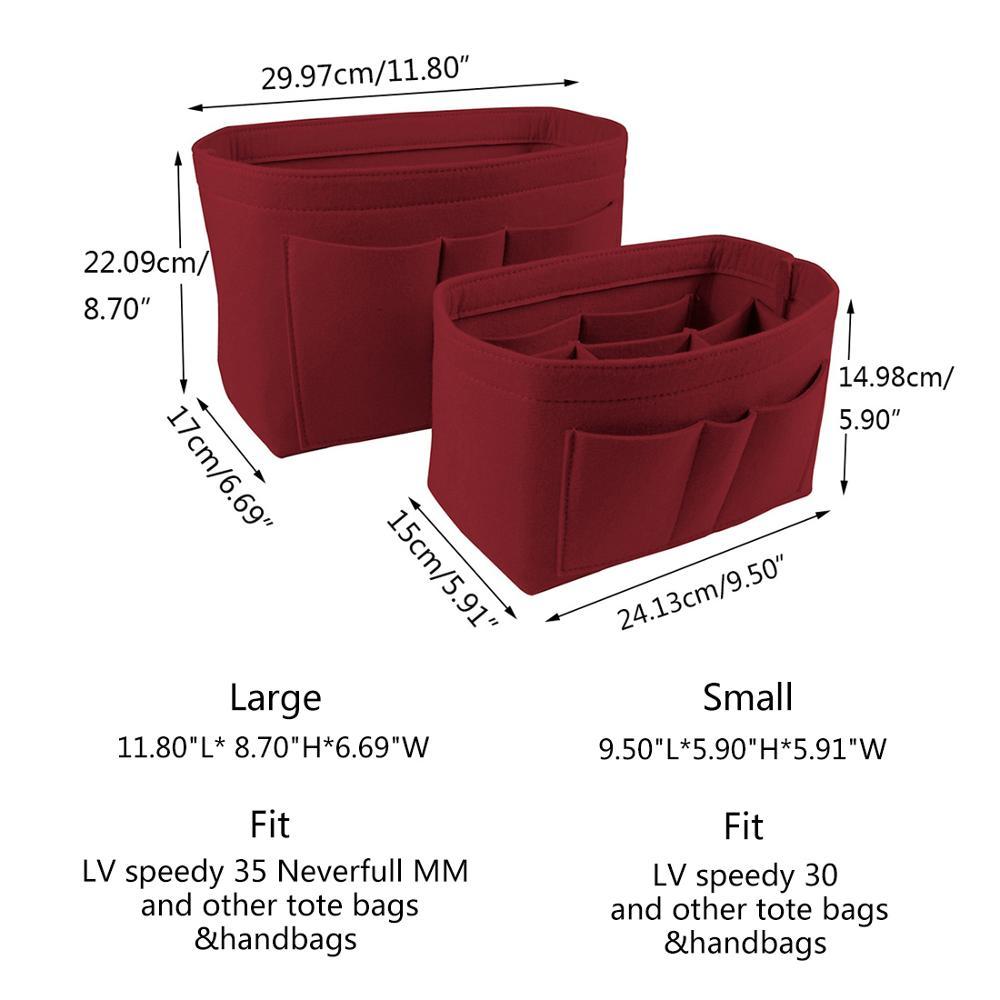 Saco de Armazenamento de Multi-função Marca Organizador Cosmetic Bag Duplo