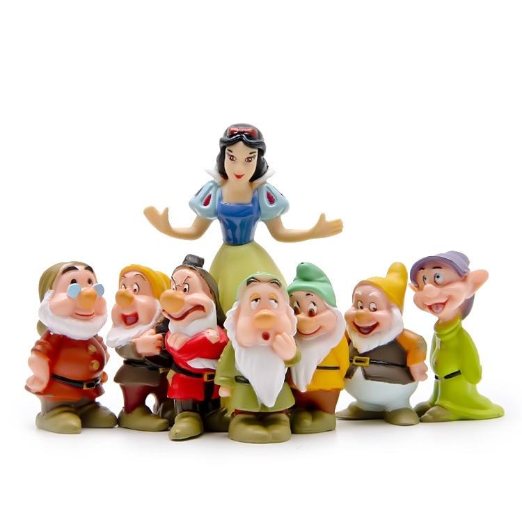 Snow White And 7 Dwarfs/ Home Decoration/ Garden Gnome/ Children Gifts/ Bonsai