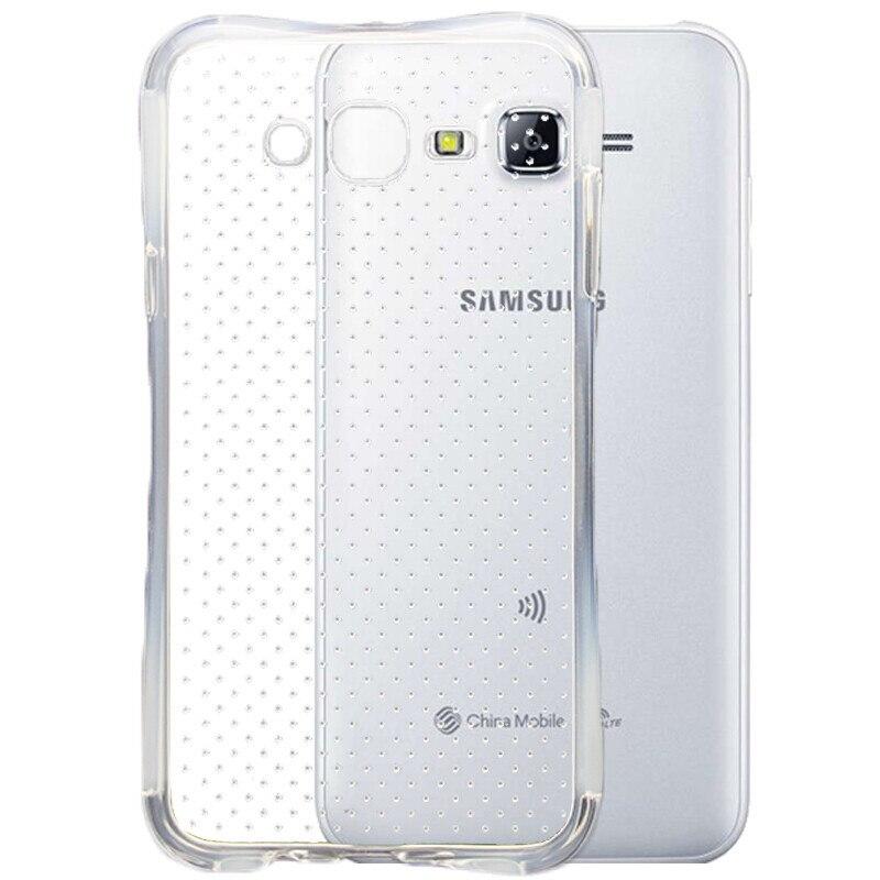 baixin For SAMSUNG J1 J3 J5 J7 A3 A5 A7 2016 J 120 320 510 Tempered Glass Sreen Protector+phone TPU Air Cushion Shockproof Case