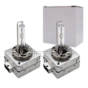 Image 5 - HCDLT Auto Faro 35 W HID Lampadina Allo Xeno D1S 6000 K 55 W D3S 8000 K 4300 K 5000 K d1S D3S Xenon HID Lampada Artiglio di Metallo Auto Headight Bulbi