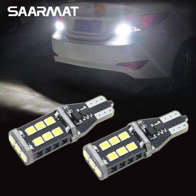 Pair LED T15 W16W 15 SMD CANBUS Backup Reverse Light For Hyundai Genesis  Coupe Sonata