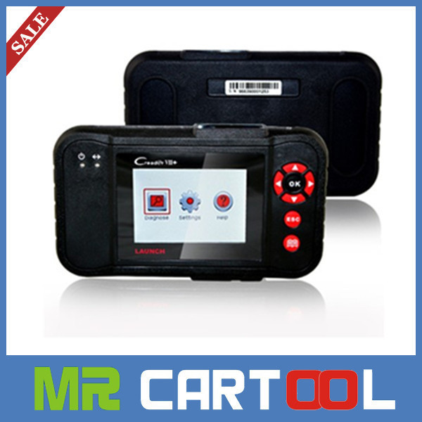 Lowest price + high quality 2014 Top original Launch x431 Creader VII+ Auto Code Reader Scanner  Creader CRP123 Free Shipping