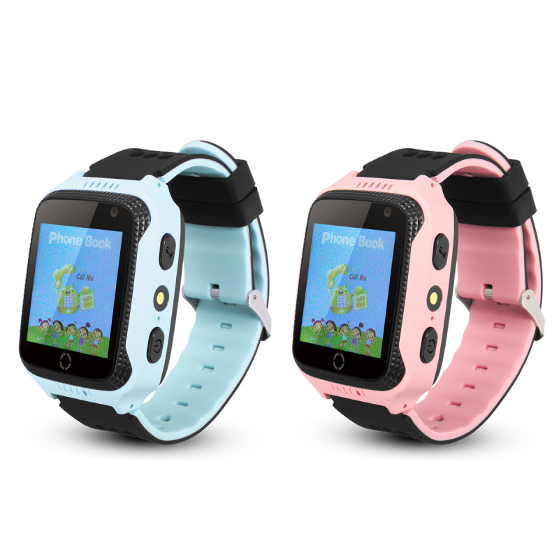 GPS Child Smart Watch SOS Call Location Device 1 54inch Touch Screen Tracker for Kid Safe