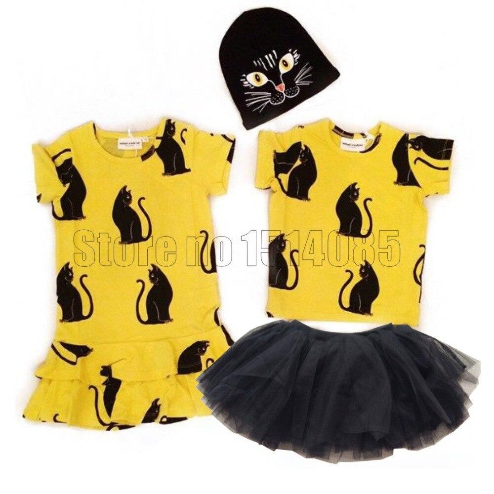 Cute Cartoon Girl Dress