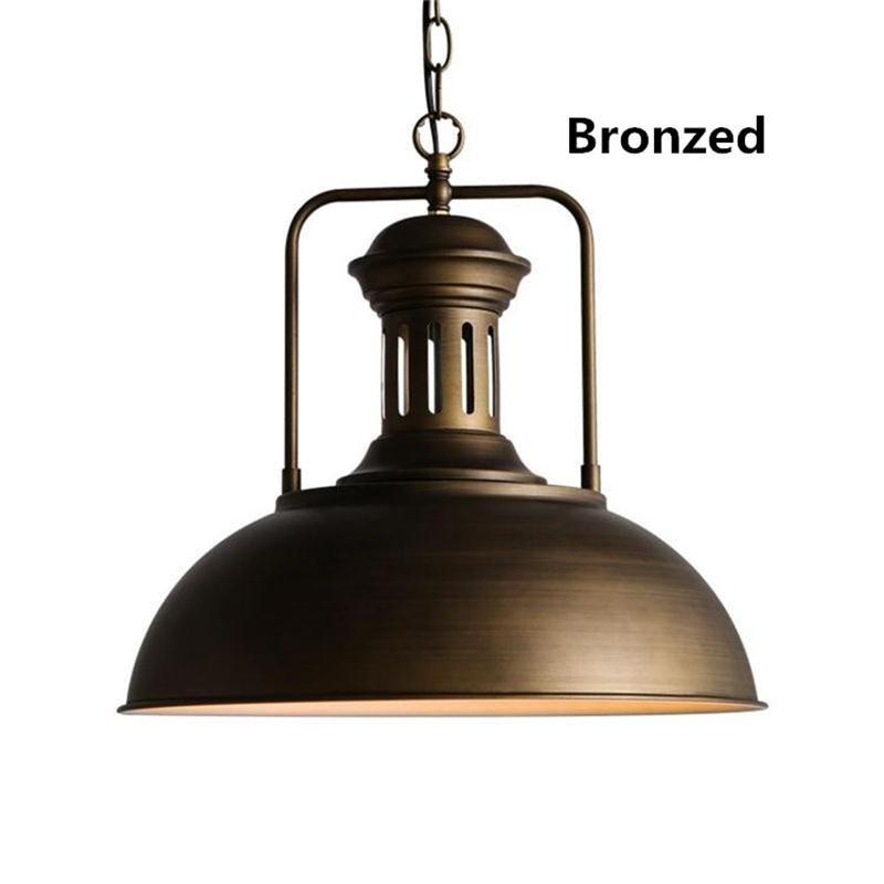 Retro Pendant Lights E27 Lamparas de Techo Colgante Loft Industrial Hanging Lamp Vintage Indoor LED Luminaire