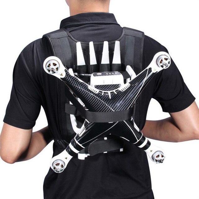 Black Portable Backpack Belt Shoulder Harness Strap For DJI phantom 3 2 Quadcopter Drone Professional Luggage_640x640 black portable backpack belt shoulder harness strap for dji phantom