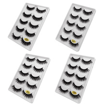 5 pairs natural false eyelashes 2019 fake lashes long makeup 3d mink eyelash extension for beauty G600