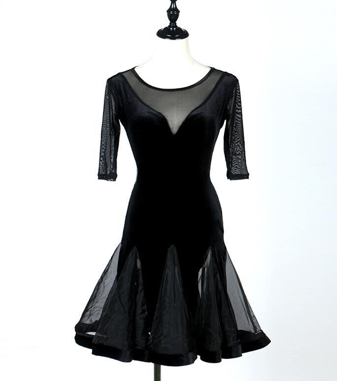Children girl kids Latin Dance Dresses Vestido Baile Latino Latin Girl Dance Dress Costume juvenile latin dress S-XXXL lq083