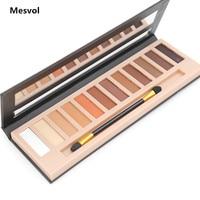 Makeup Eyeshadow Palette 1pcs 12 Colors Matte Shimmer Smoky Eye Shadow Palette Net 10 8 G