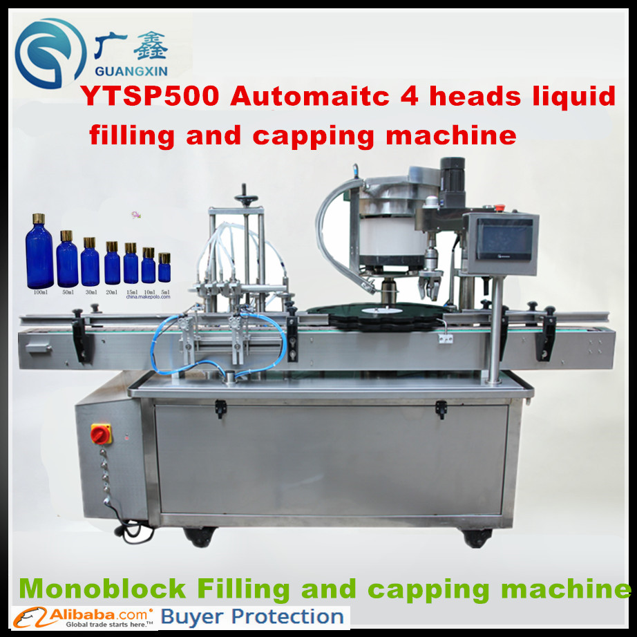 medium resolution of ytsp300 automatic e liquid filling machine and capping machine cosmetic spray liquid filling and capping