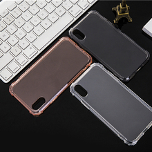 For Huawei P20 Pro Case business plain Soft Silicone TPU transparent Phone Cover