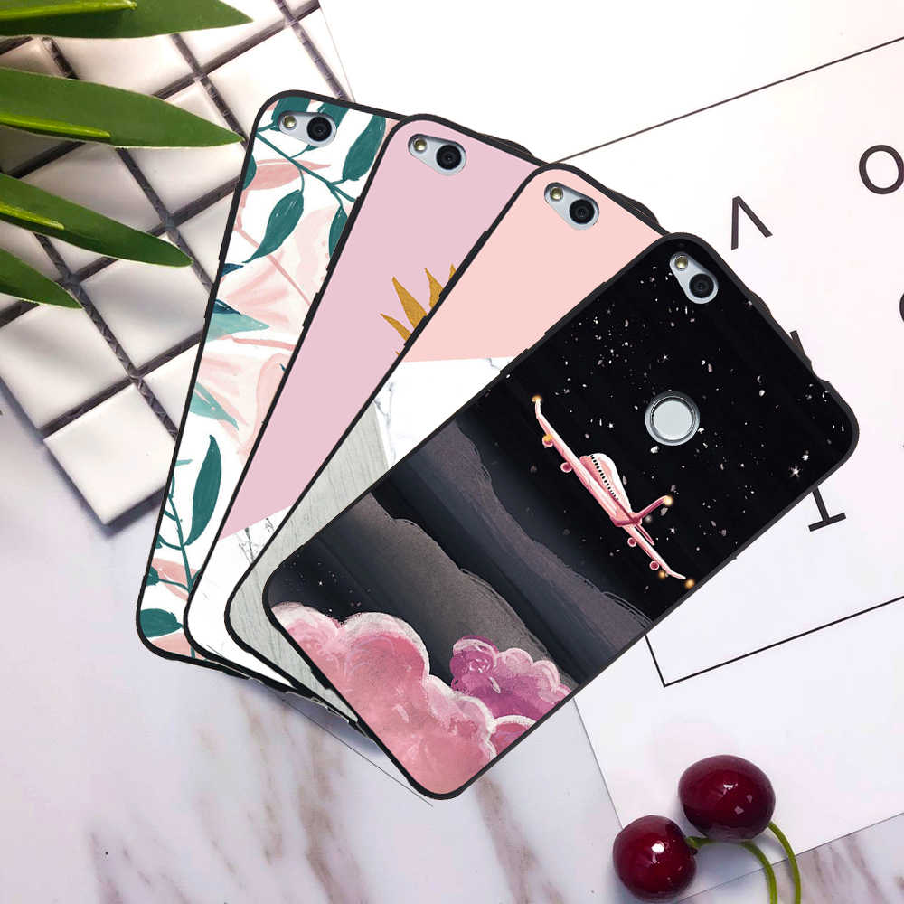 Luxury Cases For Huawei Honor Note 10 V10 V9 Play 9 Lite Honor 7A 7X 6C 8 Pro Pineapple Marble Silicone Cases Covers Coque Funda