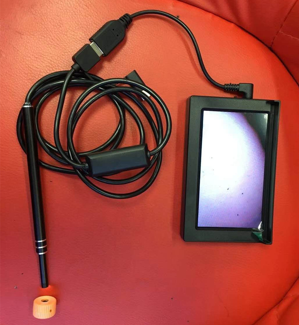 Endoscope portatif de caméra d'endoscope d'usb de choix d'oreille de 4.3 pouces