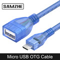 SAMZHE USB 2,0 Micro USB OTG кабель OTG адаптер телефон Флешка конвертер для Android SAMSUNG XIAOMI HUAWEI телефона планшеты - фото