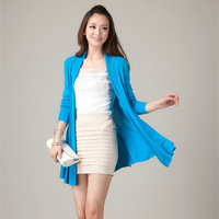 Women S Hollow Thin Autumn And Winter Knitted Cardigan Sweater For Lady Korean Tide Long Sweater