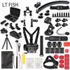 LT FISH Sports Action Camera Accessory Kit For GoPro Hero6 5 Black Hero 5 4 3