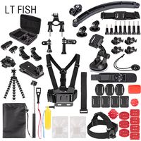 LT FISH Sports Action Camera Accessory Kit For GoPro Hero6 5 Black Hero 5 4 3