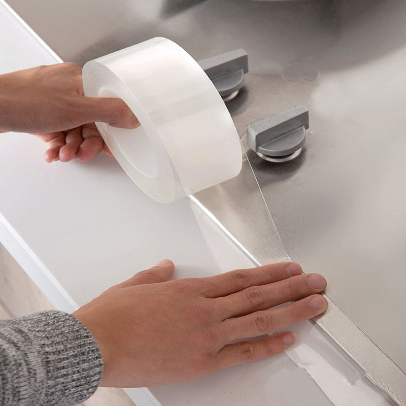 Transparent Acrylic Waterproof Mildew-Proof Self-Adhesive Tape Kitchen Sink
