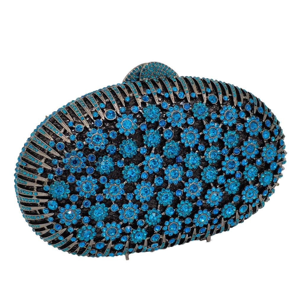 De Mariage À Boutique Bag Blue D'embrayage pink Cristal Bag Luxe Main Sacs Noce Bourse Bleu lblue Nuptiale Fleur Femmes Fgg Bag Floral Crystal Bag gold Soirée Paon dPqnrwqUXO