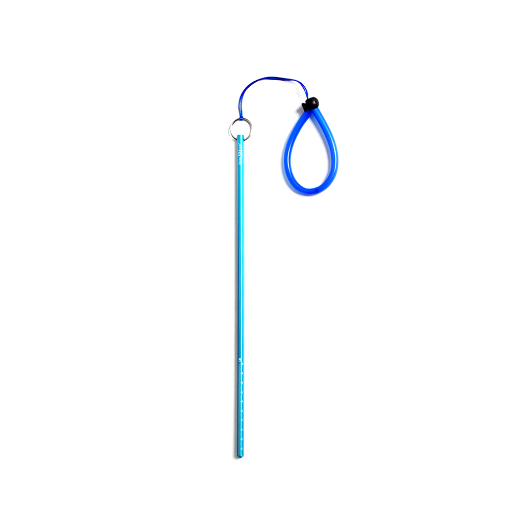 Diving Stick Aluminium Alloy Professional Rope Accessories Tank Banger Pointer With Lanyard Noise Maker Underwater Shaker Scuba