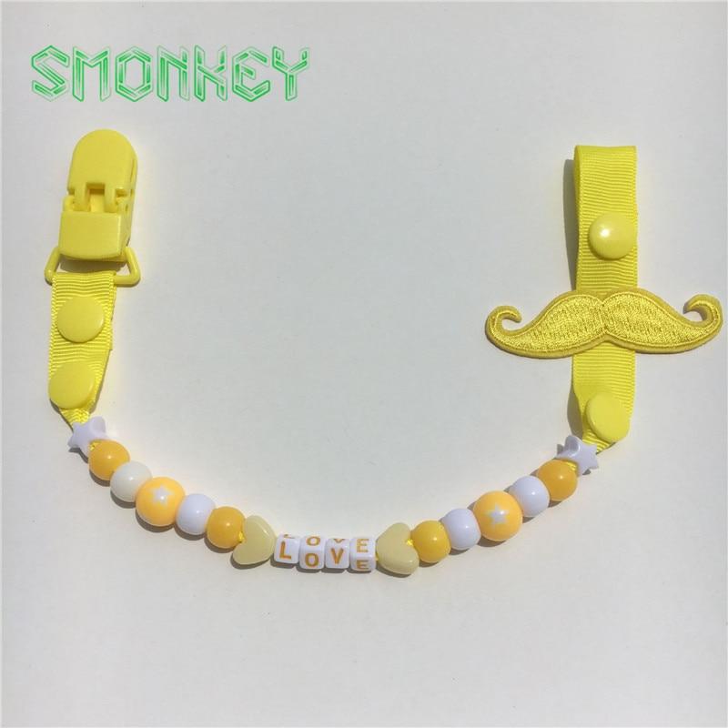 Brkovi smiješni dječji djeveruši Kvačice lanac dječak Teether - Hraniti - Foto 4