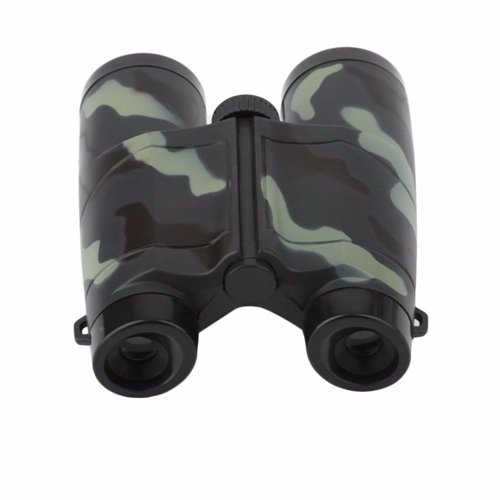 Image 3 - Niños plegable al aire libre Mini binoculares telescopio alcance juguete de camuflaje niños niño portátil regalo Deportes de caza gran ofertaportable scopebinoculars camouflagesport hunting -