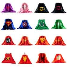 Spiderman Cape 1PCS Superman Cape for Boy Kids Superhero Capes Costume Superhero Suits for Kids Boys Girls Suit Gift Party Sets