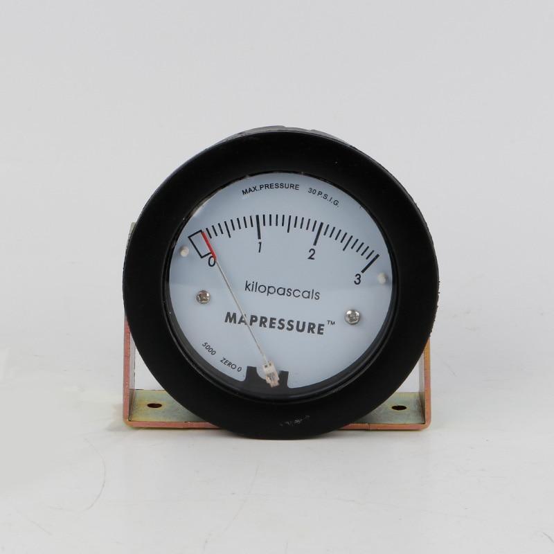 TE5000 0-3kpa Mini Size Air Differential Pressure Gauge te5000 0 3kpa pressure gauge