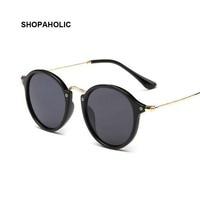 Round Men Sunglasses Women Brand Designer Sun Glasses for Women Alloy Male Ladies Vintage Sunglasses Ray Oculos De Sol Glases
