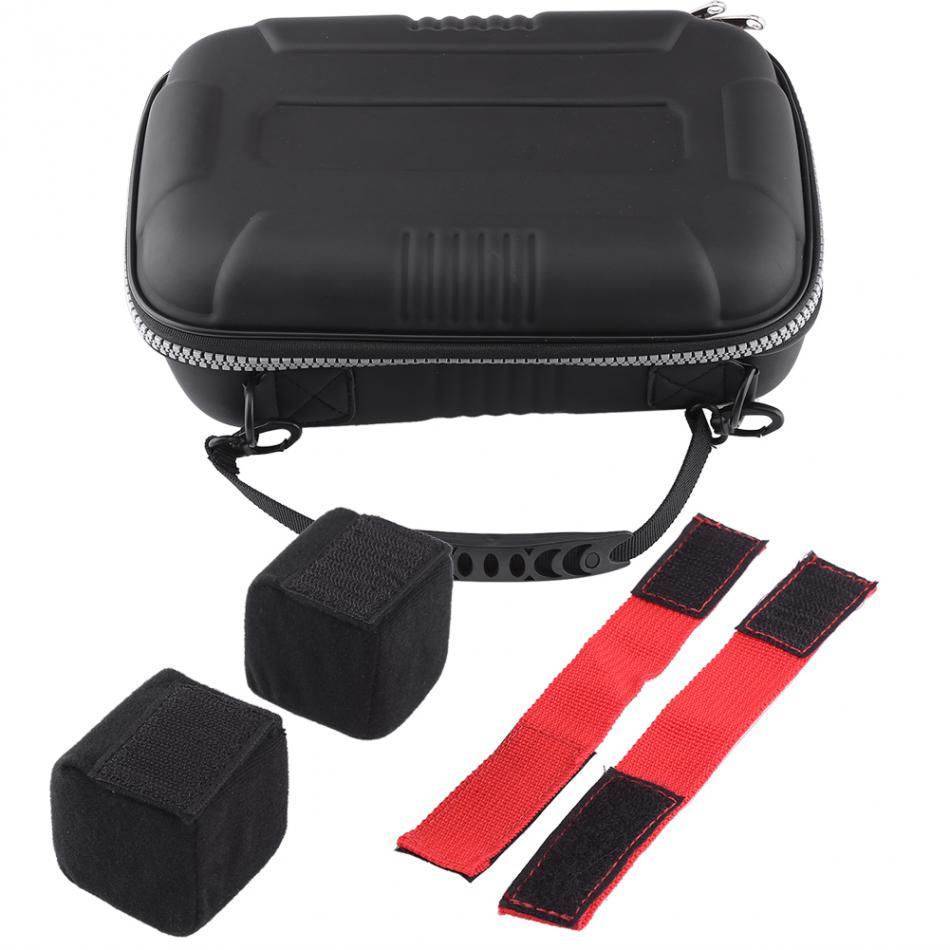 Portable Remote Control Hard Storage Bag Box Controller Carrying Case For JR Shock Absorber RC Safety Holder Bag Drone Accessory