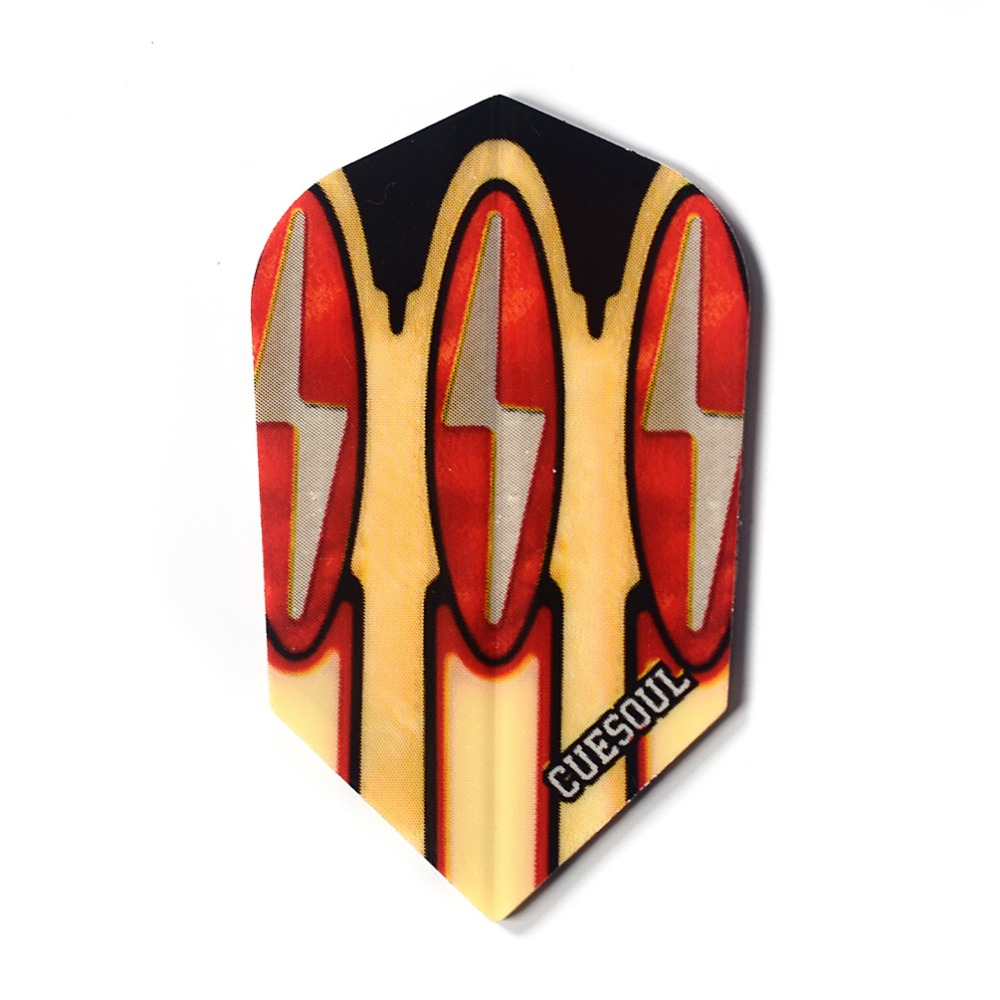 Cuesoul 30pcs set Slim Dart Flights Laser Dart Flights From Dart Game Accessories Supplies in Darts from Sports Entertainment