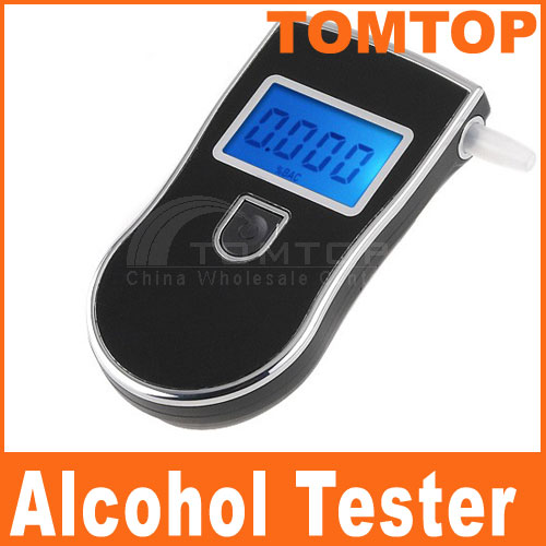 Digital Alcohol Tester Professional alcoholimetro alcool Bafometro Alkohol Tester with Car-detector Breath Analyzer Breathalyzer