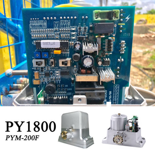 Circuit board pcb motherboard for 1800kg sliding gate motor PYM 200F PYM 200E  Door gate control board-in Access Control Kits from Security & Protection