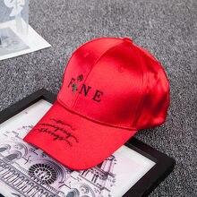 47ed44887d9ec Rouge Marine Bleu Noir Blanc casquette de baseball femmes hommes hip hop  Belle lettre rose Rappeur