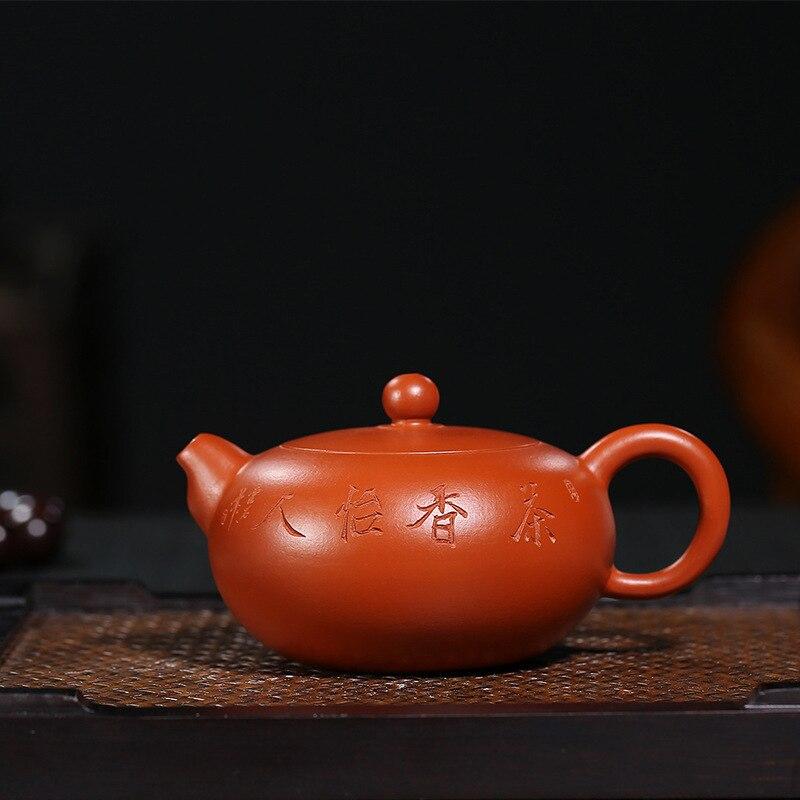 Pottery Teapot Quality Goods Full Manual Kettle Raw Ore Zhu Niyu Xiangju Wholesale Special Kungfu Online Teapot Tea Set SuitPottery Teapot Quality Goods Full Manual Kettle Raw Ore Zhu Niyu Xiangju Wholesale Special Kungfu Online Teapot Tea Set Suit