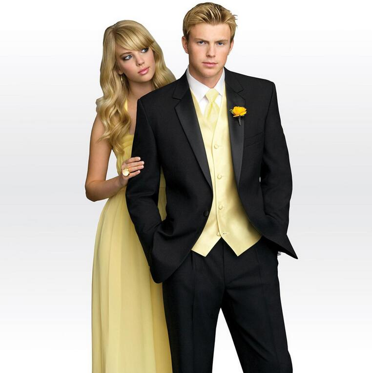 Online Buy Wholesale mens yellow prom suits from China mens yellow ...