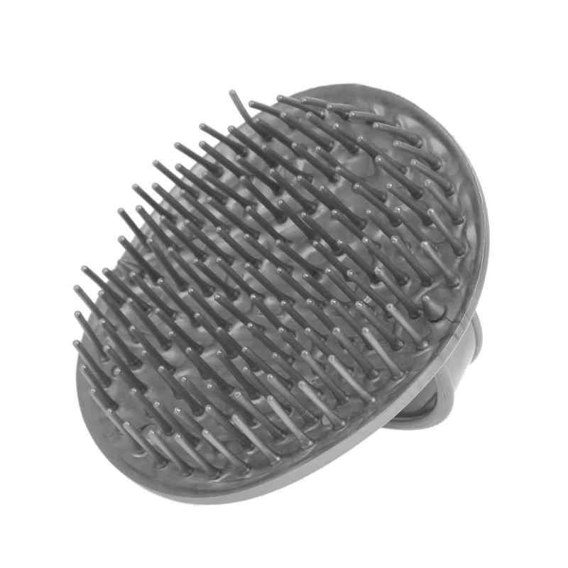 Chuveiro shampoo cabelo escova pente silicone massagem couro cabeludo anti-skid escova de cabelo massagem pente banho e couro cabeludo massageador cabeça cuidados
