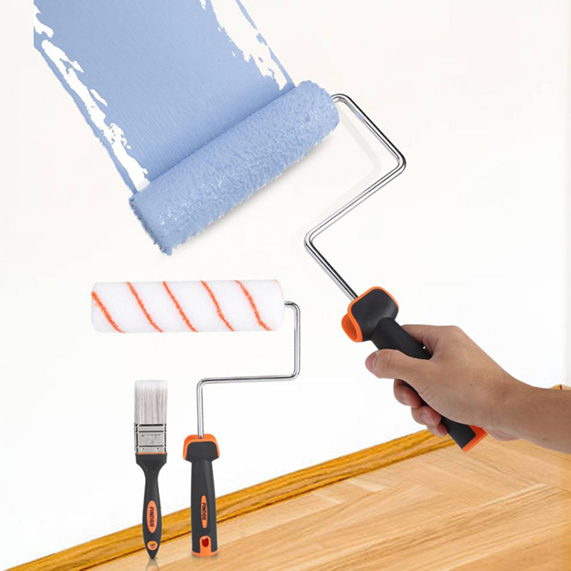 Finder 7pcs Wall Paint Roller Brush Set Wall Painting Tools Packed
