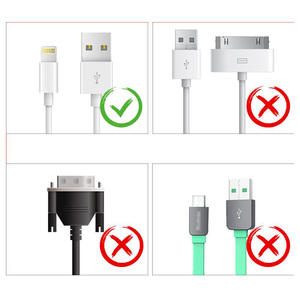 Image 5 - 1M Cable Protector Heat Shrink Tube Organizer Cord Management Cover For Android iPhone 5 5s 6 6s 7 7p 8 8p xs Earphone MP3 USB